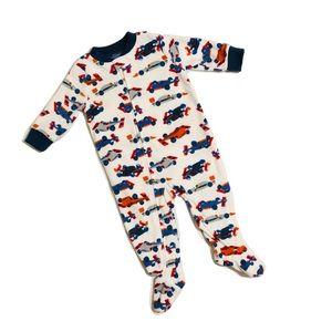 NWOT Carter's Zip-up Pajama Footie 6mo